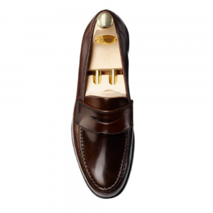 CROCKTT & JONES HARVARD DARK BROWN CORDOVAN