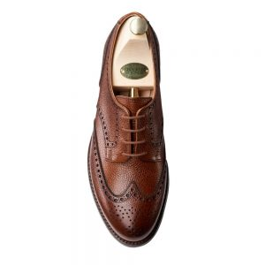 CROCKTT & JONES HATTIE TAN SCOTCH GRAIN