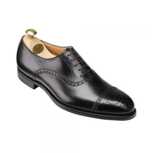 CROCKTT & JONES HATTON BLACK  CALF