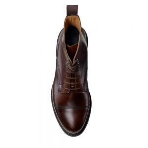CROCKTT & JONES JANE DARK BROWN CALF