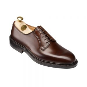 CROCKTT & JONES LANARK 3 DARK BROWN CALF