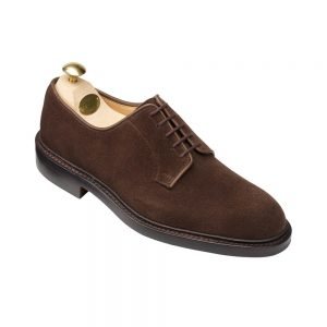 CROCKTT & JONES LANARK 3 DARK BROWN SUEDE