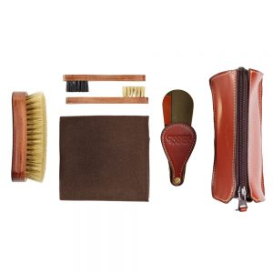 CROCKTT & JONES TRAVEL SHOE CARE KIT