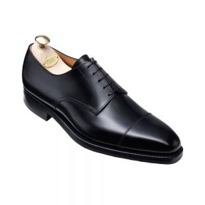 CROCKTT & JONES NORWICH BLACK CALF