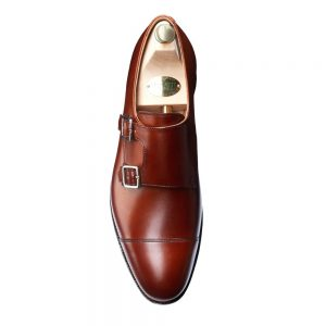 CROCKTT & JONES RUBY CHESTNUT CALF