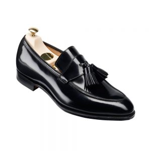 CROCKTT & JONES SOPHIE BLACK CALF