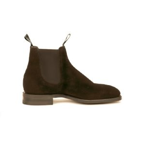 R.M.WILLIAMS BLAXLAND G SUEDE BLACK