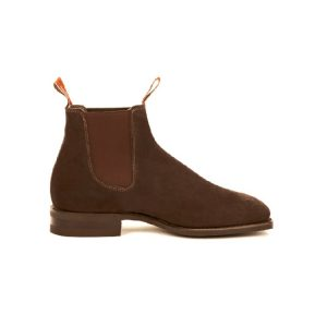 R.M.WILLIAMS BLAXLAND G SUEDE CHOCOLATE