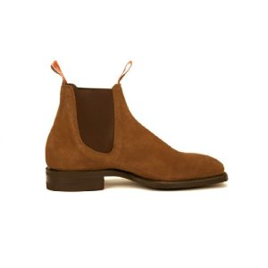 R.M.WILLIAMS BLAXLAND G SUEDE MIDBROWN