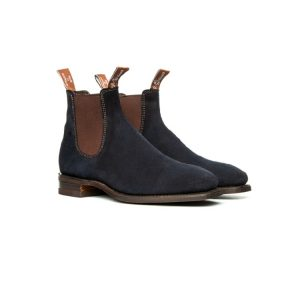 R.M.WILLIAMS BLAXLAND G SUEDE NAVY