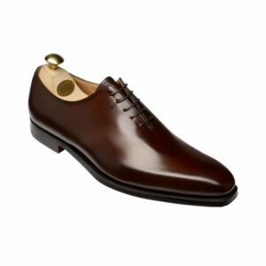CROCKTT & JONES ALEX DARK BROWN CALF