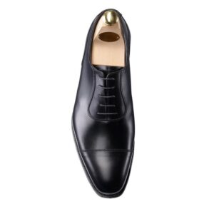 CROCKTT & JONES EGERTON BLACK CALF