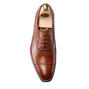 CROCKTT & JONES EGERTON TAN ANTIQUE CALF