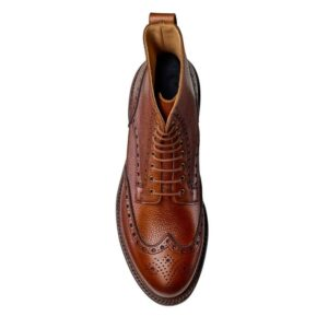 CROCKTT & JONES GRACE 2 TAN SCOTCH GRAIN
