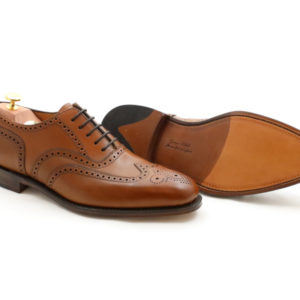 LOAKE 1880 BUCKINGHAM BROWN CALF