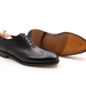 LOAKE 1880 HODGES BLACK CALF