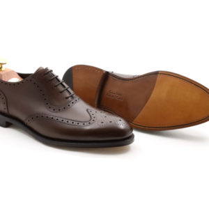 LOAKE 1880 HODGES DARK BROWN CALF