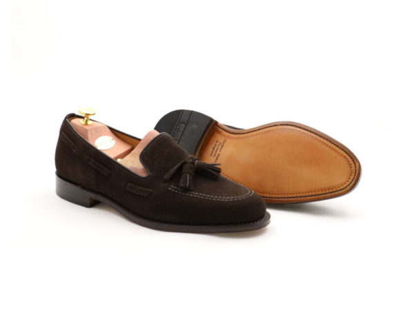 Loake -1880-Lincoln Brown Suede