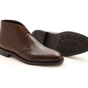 LOAKE 1880 PIMLICO DARK BROWN CALF