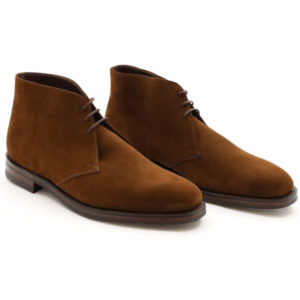 LOAKE 1880 PIMLICO BROWN SUEDE