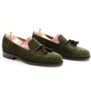 LOAKE 1880 LINCOLN GREEN SUEDE