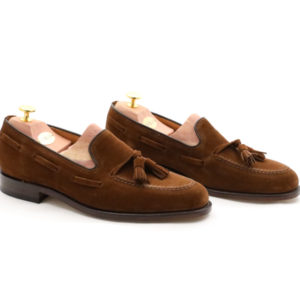 LOAKE 1880 LINCOLN POLO SUEDE