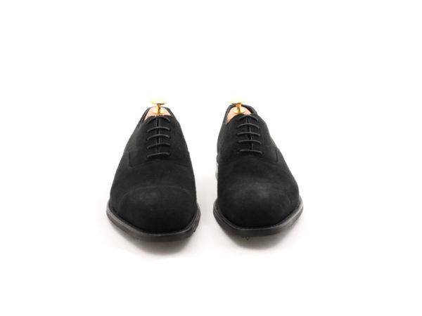 Loake -1880-wesley black Suede