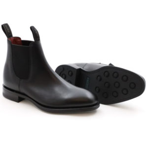 LOAKE 1880 CHATTERLEY BLACK CALF
