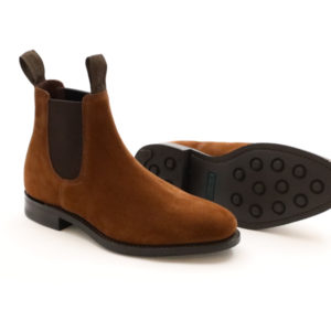 LOAKE 1880 CHATTERLEY BROWN SUEDE