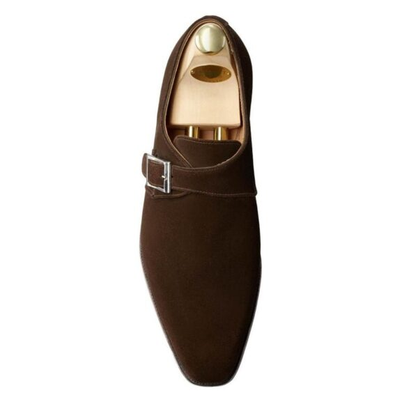 Monkton dark brown suede 11