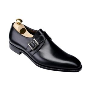CROCKTT & JONES SAVILE 4 BLACK CALF